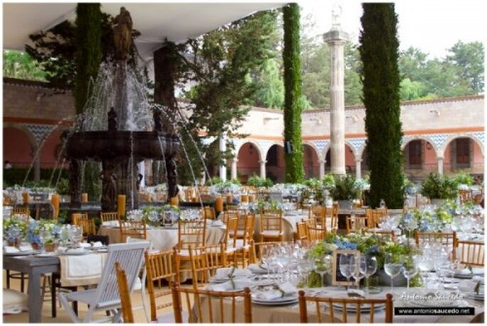 La mejor locación para una boda de ensueño - Foto Hacienda La Gavia
