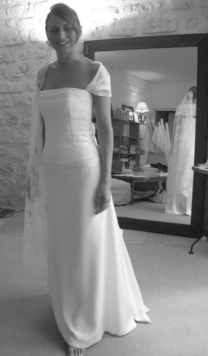 Robe de mariée sur mesure : Gilles Zimmer