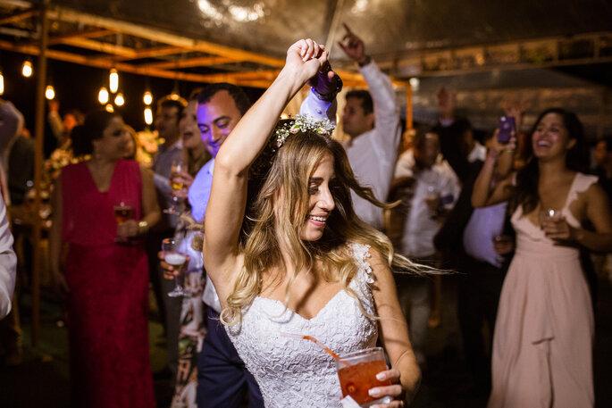 pista de dança do casamento