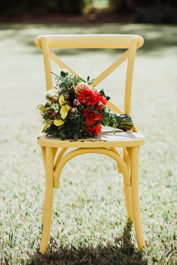 Casamento rústico-chique ao ar livre