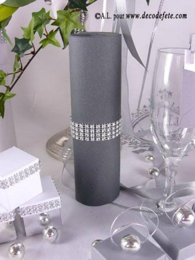 Décoration de vos tables de mariage, choisissez vos coloris ! - Photo : decodefete.com