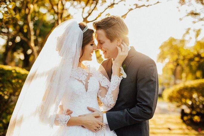 Foto casamento ar livre