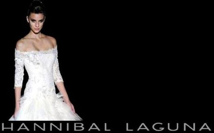 Colección de vestidos de novia Hannibal Laguna 2010