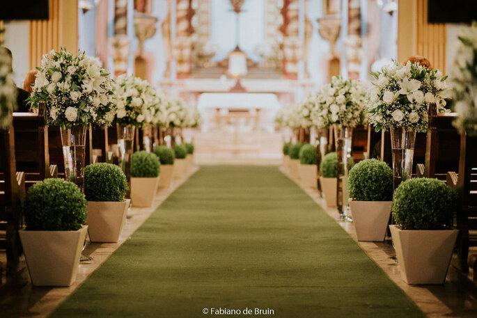 casamento altar
