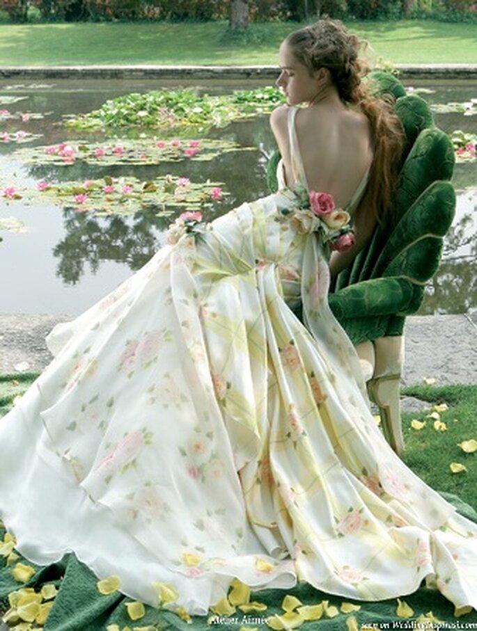 Vestido de Noiva a estampado - Aimee Bridal