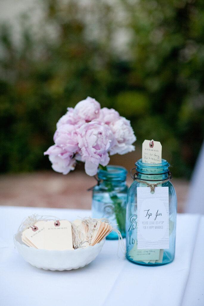 Las ideas más originales para usar los mason jars en tu boda - Mi Belle Photography