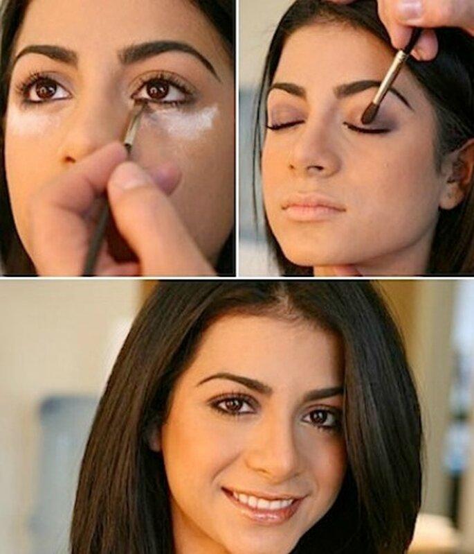 Aprende a maquillarte como una modelo de pasarela.