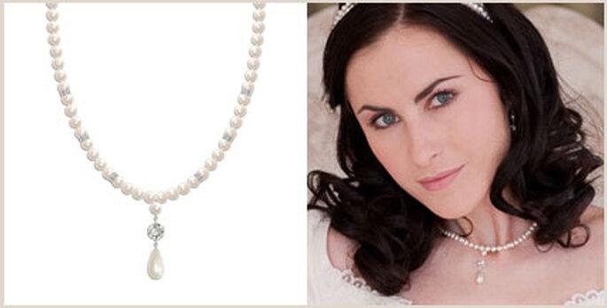 Chezbec Perlenkette klassisch