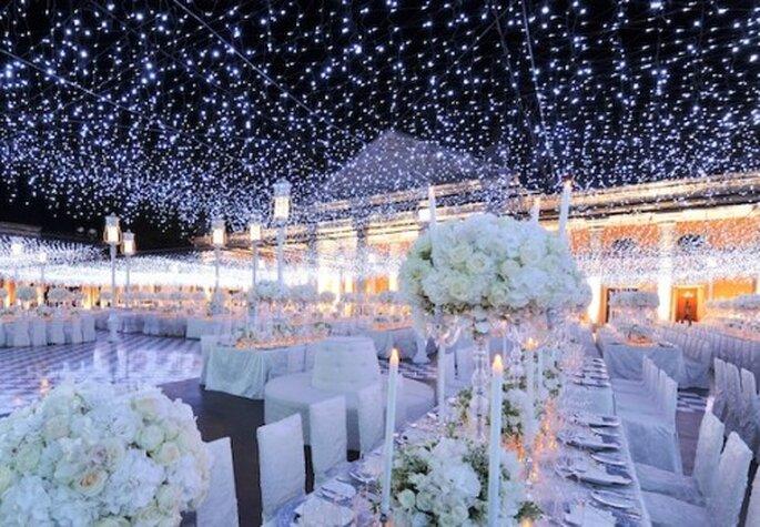 Ilumina tu boda con efectos especiales y mucha tecnología - Foto Preston Bailey