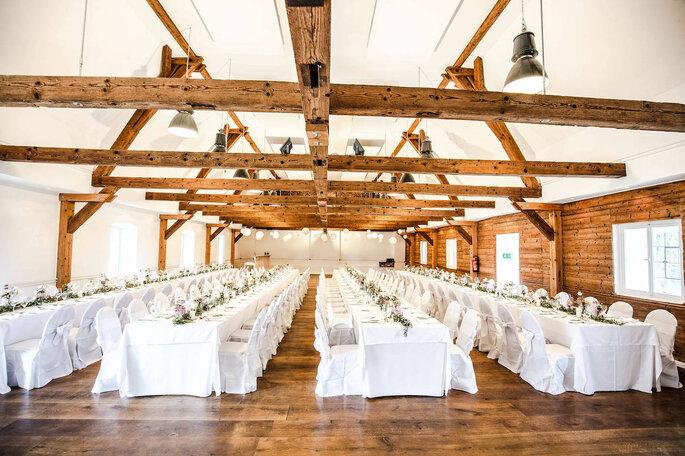 Gut Sedlbrunn Hochzeitsscheune Location