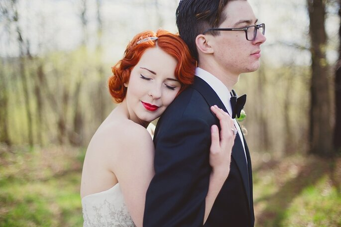 20er Jahre Brautmake-up
