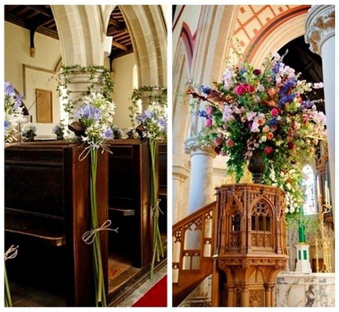 Decorar Altar De Iglesia ~ Las flores de colores se utilizan mucho en la decoraci?n de iglesias