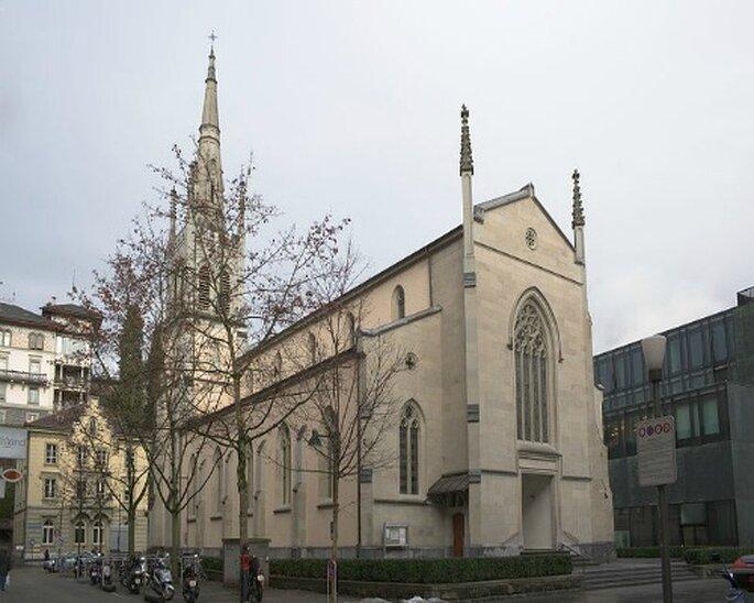 Die Matthäuskirche bietet sich ebenfalls für eine Hochzeit in Luzern an. Photo: Ikiwaner