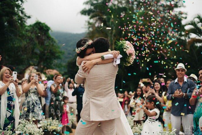 confetes para jogar nos noivos
