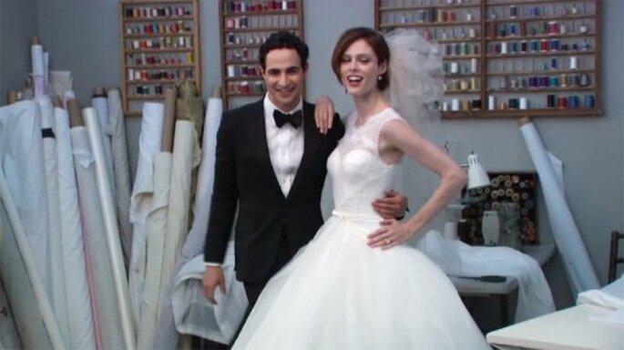 """Nueva colección de vestidos de novia """"Truly Zac Posen"""" - Foto David's Bridal"""
