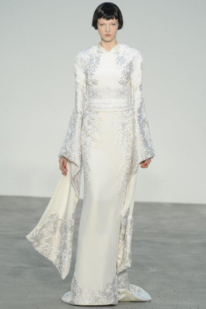 Vestido de novia 2014 con inspiración oriental - Foto L'Wren Scott