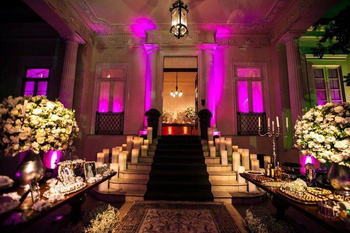festa de casamento Palacete Modesto Leal