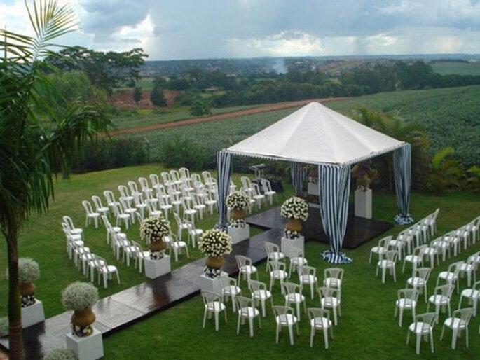 casamento jardim simples : casamento jardim simples:tendência do cerimônial redondo. Foto: JB Online