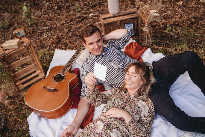 Die Songmanufaktur, die beiden Musiker Julia & Sebastian komponieren zusammen