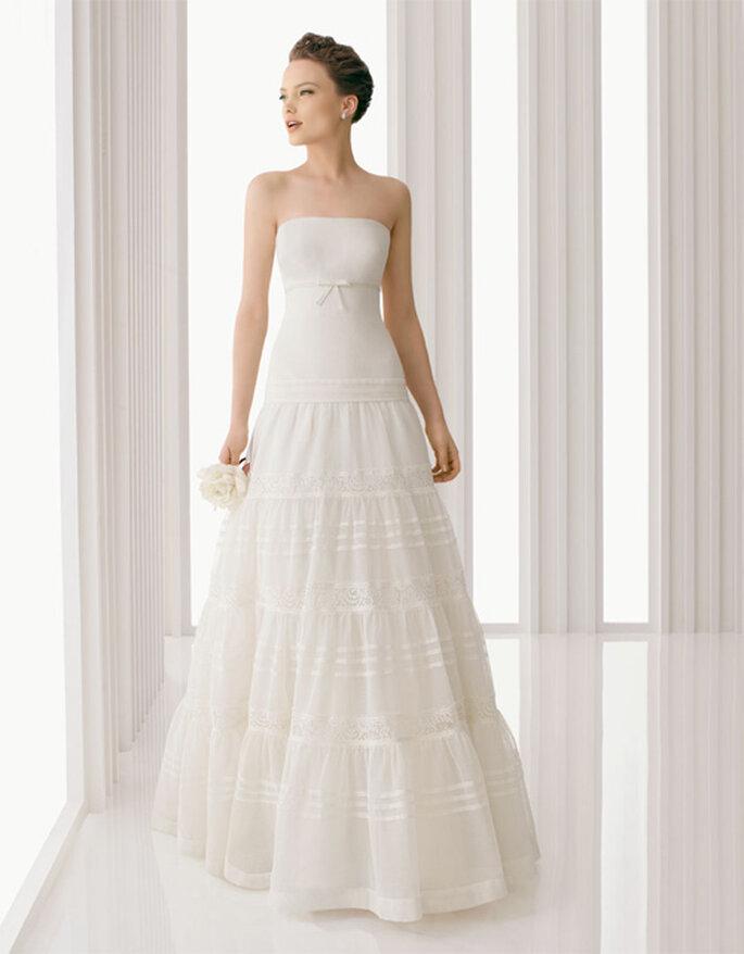 Robe de mariée simple Rosa Clara 2012