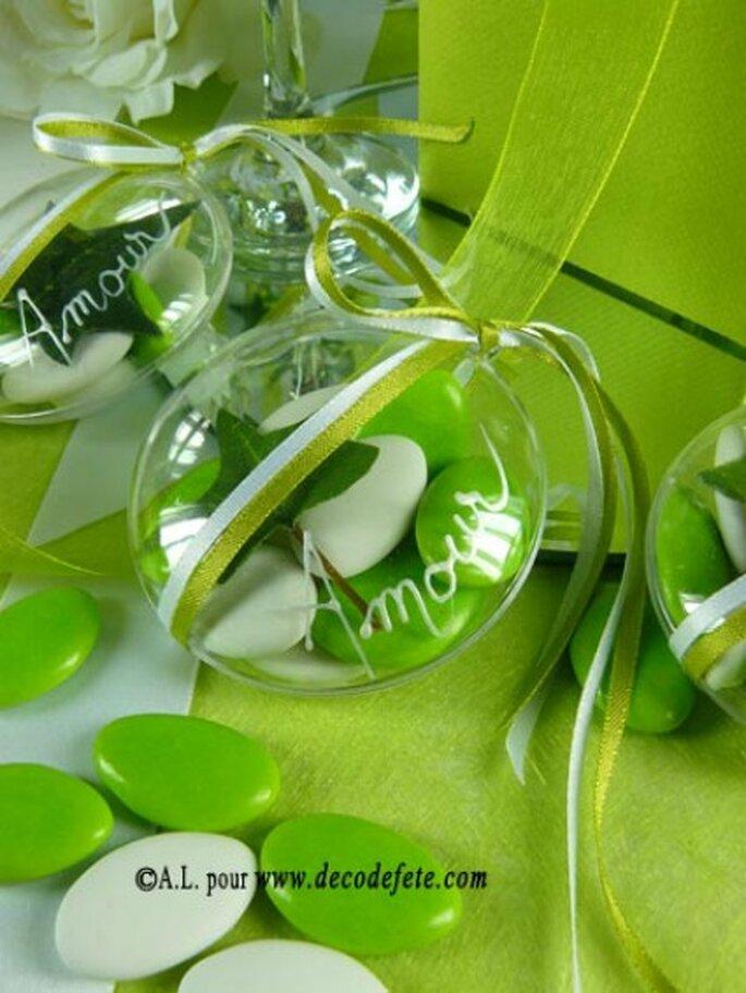Des articles pour la décoration de votre mariage ultra variés et nombreux - Photo : Decodefete.com