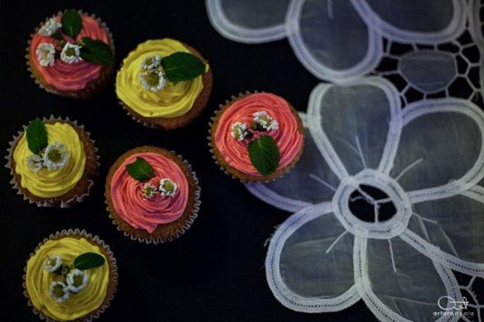 Diviértete en la partida del pastel de tu boda - Foto Arturo Ayala