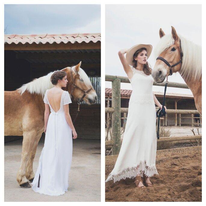 Créatrice de robes de mariée à Lyon