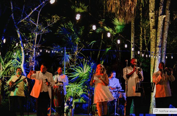 Aché pa' ti Orquesta música en vivo bodas Cancún