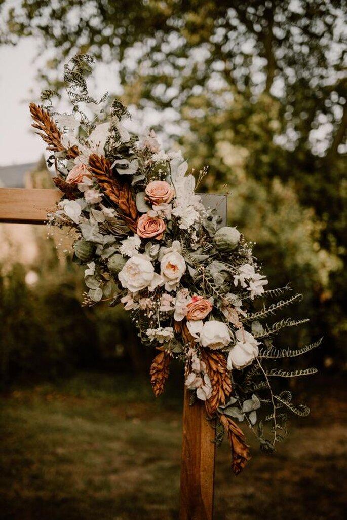 Décoration de mariage - Arche en fleurs