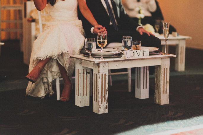 Una boda shabby chic en California. Foto: Chaz Cruz Photographer