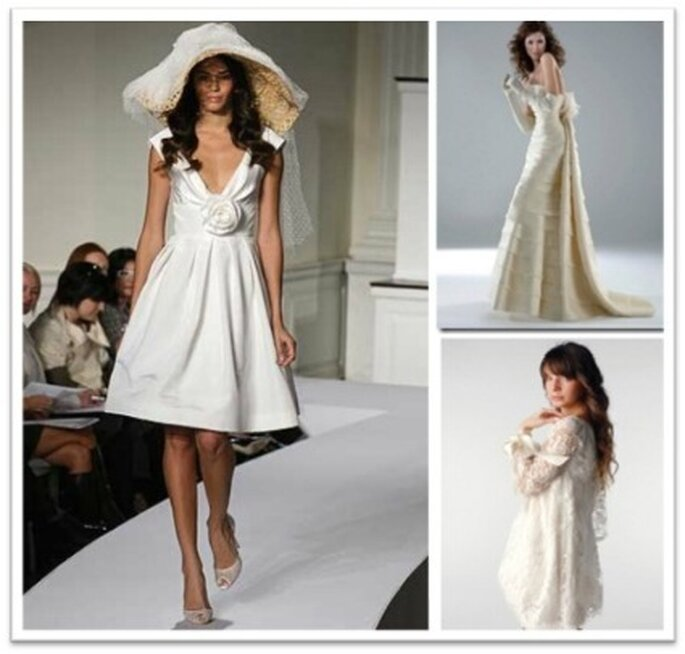 Hay varias posibilidades para analizar sobre el uso final que le dará al vestido de novia
