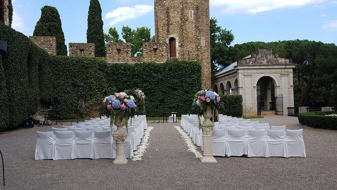 Castell de Peralada castillo para bodas en Girona