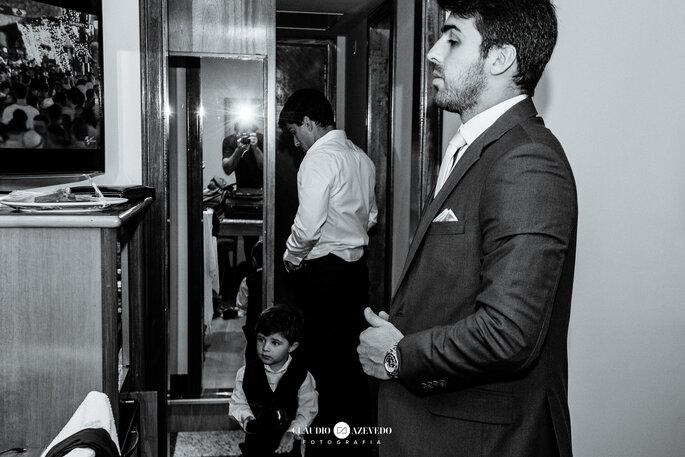 Traje do noivo: Só a Rigor - Foto: Claudio Azevedo Fotografia