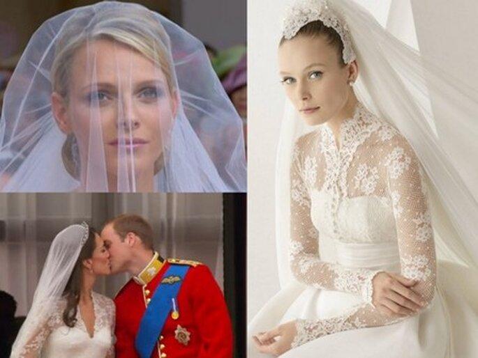 As estrelas que inspiram as noivas
