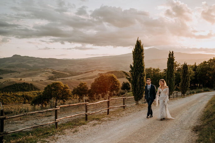 Tuscany Equestrian Wedding