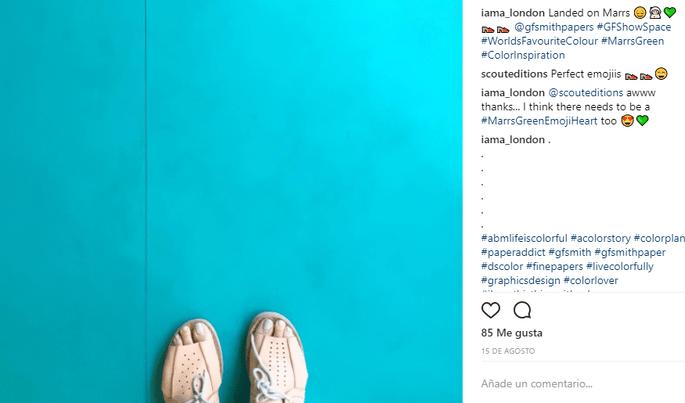 Foto via Instagram: iama_london