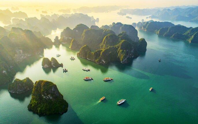 Flitterwochen in Vietnam