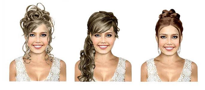 Imagínate todas estas pruebas sin tocar tu cabello!