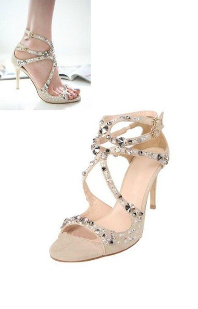 Sandales ultra féminines pour une invitée au top ! - Chouchourouge