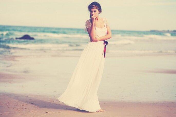 Träumen Sie auch von einer Strandhochzeit? - Foto: Grace Loves Lace