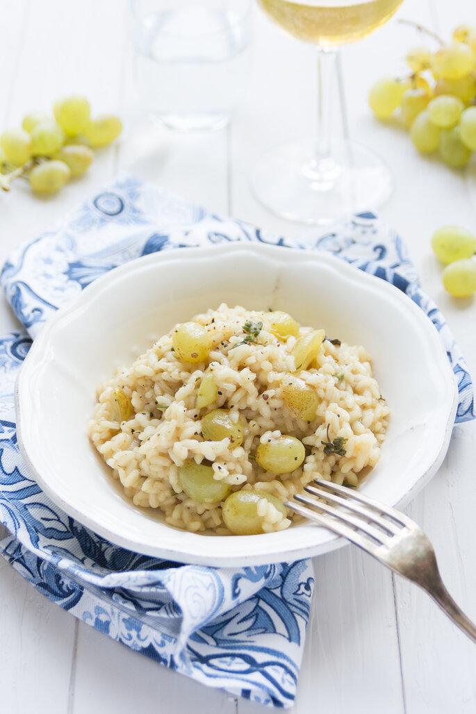 Risotto all'uva bianca - L'ennesimo blog di cucina