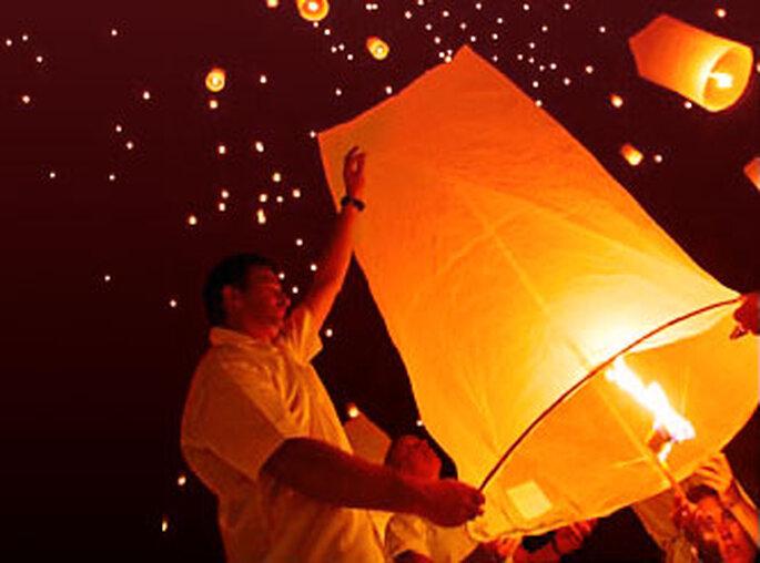 Lancé de lanternes