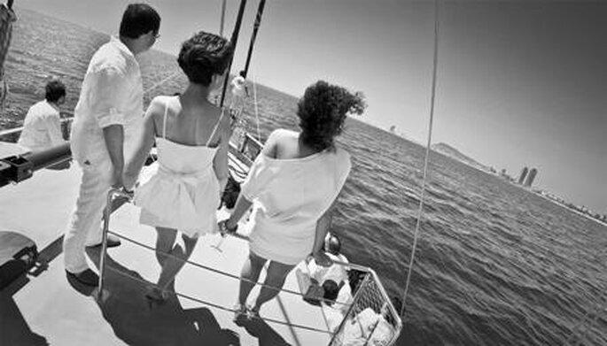 Boda en barco - bodabcn.com