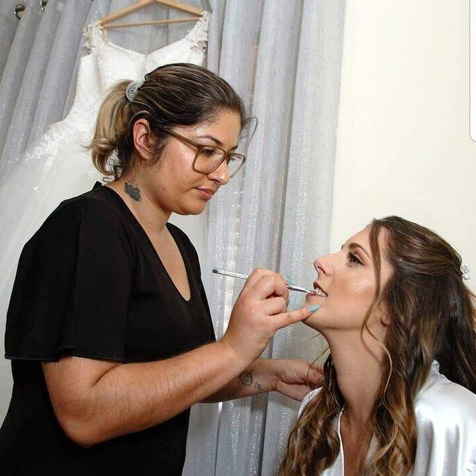 Maquilhagem de Noémia Pereira Makeup