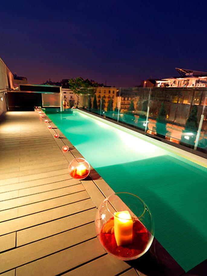 Piscine Monument Hotel Condes Barcelone - Salles de réception