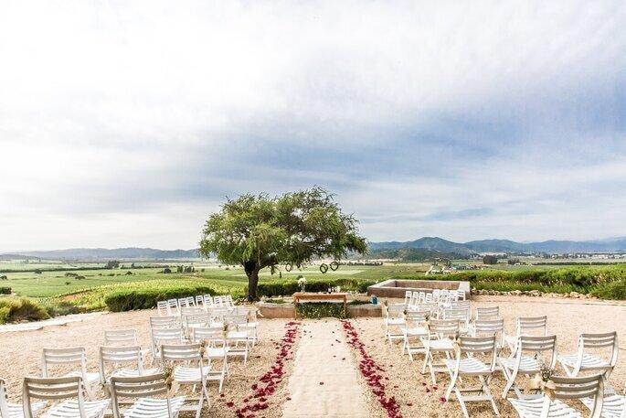 Destination wedding no Chile