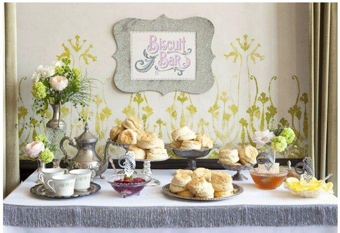 Brunch para el banquete de tu boda - Foto Tinywater Photography