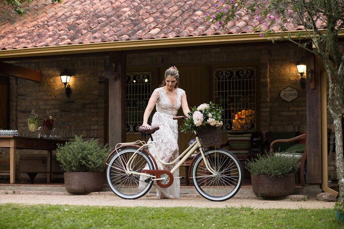 noiva bicicleta