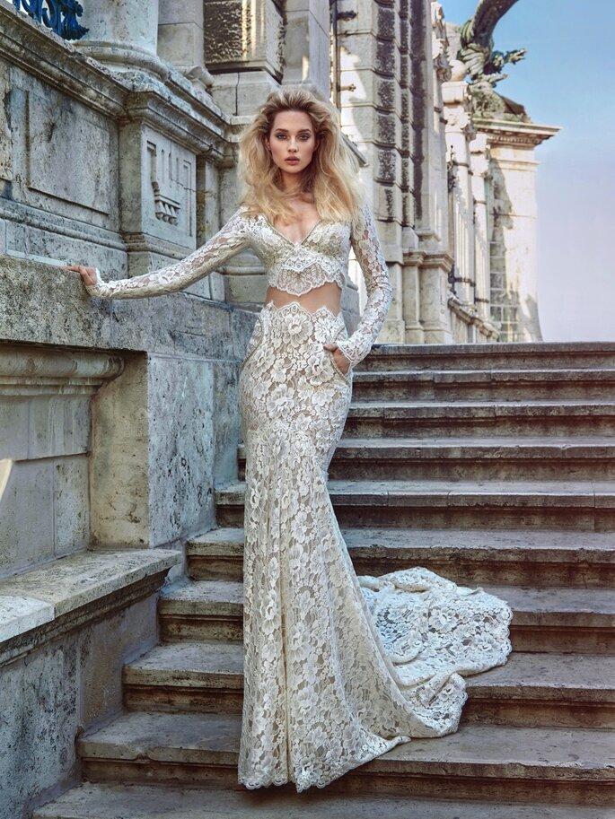 Image: Galia Lahav Ivory Tower Haute Couture Collection, dress 1608 Morgan