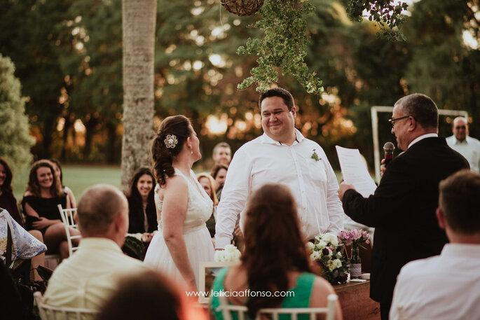 Felicidade noivo